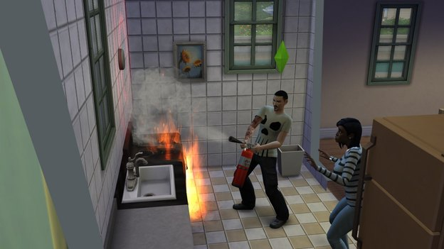 The Sims 4 Fire!