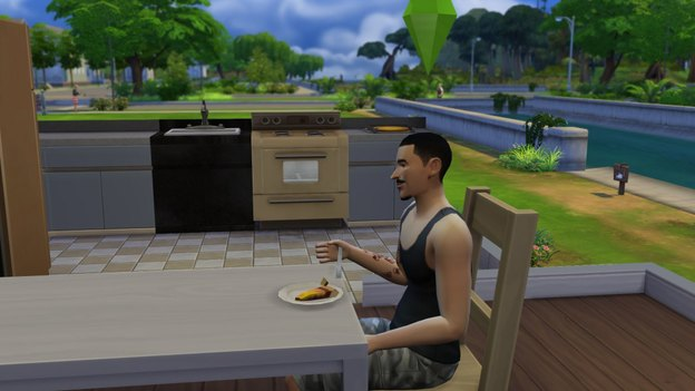 The Sims 4 glitch fork