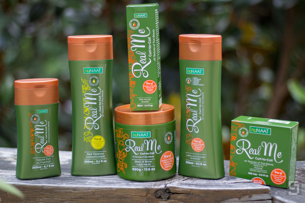 REVIEW: The Real Me Curl-to-Coil Collection by nuNAAT